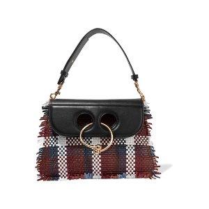 J.W.Anderson   Pierce medium woven leather shoulder bag