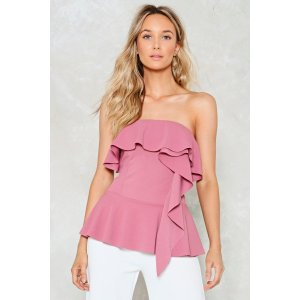 Boogie Oogie Strapless Top
