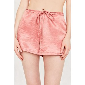 Silence + Noise Satin Shorty Short | Urban Outfitters