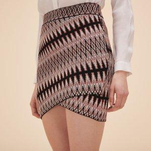 JENIA Short jacquard skirt - Skirts & Shorts - Maje.com