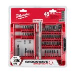 Milwaukee Shockwave Impact Duty Driver Bit Set (45-Piece)