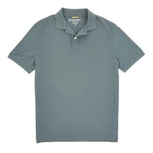 Solid Interlock Polo Shirt - Nautica Red   Nautica
