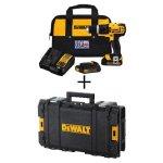 DeWalt 20-Volt MAX Lithium-Ion Compact Hammer Drill/Driver Kit