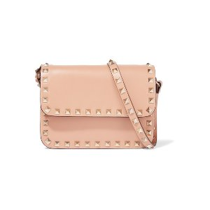 Valentino   The Rockstud mini leather shoulder bag