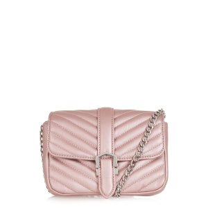 Topshop Magic Quilted Faux Leather Crossbody Bag | Nordstrom