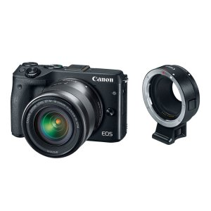 Canon EOS M3 EF-M 18-55mm IS STM + Mount Adapter EF-EOS M Kit |Canon Online Store