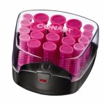 Conair Compact Multi-Size Hot Rollers; Pink