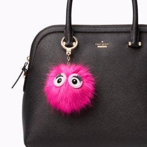 monster pouf keychain | Kate Spade New York
