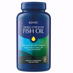 GNC Triple Strength Fish Oil - 120ct