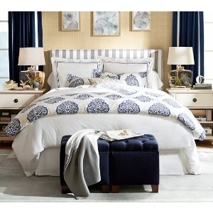 Pearl Embroidered 280TC 被套等 | Pottery Barn