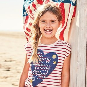 50% Off SitewideKids Apparel Memorial Day Sale @ OshKosh BGosh