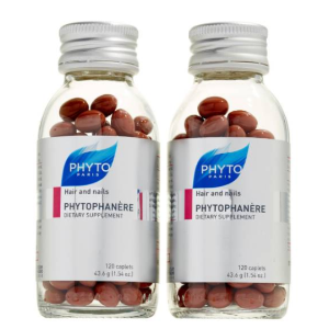 PHYTO Phytophanère Dietary Supplement for Hair & Nails Duo ($120 Value)
