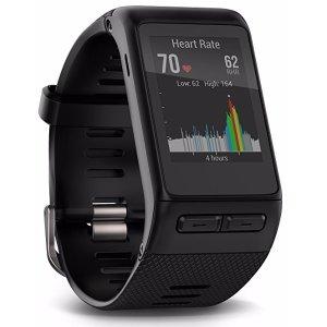 $149.99(原价$249.99)Garmin Vivoactive HR 心率检测智能手表