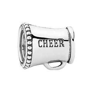 PANDORA Cheerleader Silver Charm