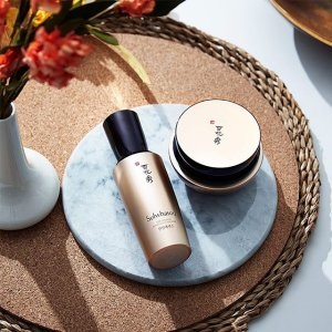 Receive an exclusive 5-piece Timetreasure Trial KitWith any $250 purchase @ Sulwhasoo(雪花秀美国官网)