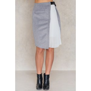 Asymmetric Felt Skirt - Buy online | NA-KD