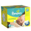 $17.47 Pampers Swaddlers Newborn Diapers Size 1, 216 Count