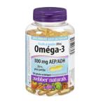 Webber Naturals 迷你易吞服Omega-3浓缩胶囊 220粒装