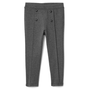 Button ponte pants