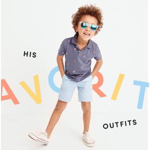 Boys' allover critter piqu� polo shirt : polos | J.Crew Factory