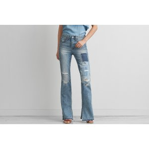 Vintage Hi-Rise Flare, Patched And | American Eagle Outfitters