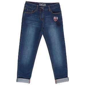Girls' Patch Jeans (8-16)