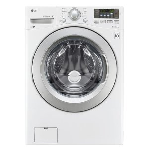 LG Electronics 4.5 cu. ft. High Efficiency Front Load Washer in White, ENERGY STAR-WM3270CW - The Home Depot
