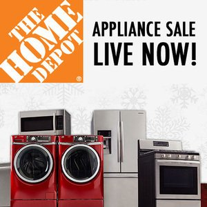 Up to 40% Off + Up to $500 offMajor Appliances @ Home Depot