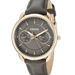 Fossil Tailor Multifunction Leather Watch
