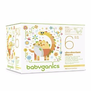 40% Off + Extra 20% OffBabyganics Ultra Absorbent Diapers Economy Pack