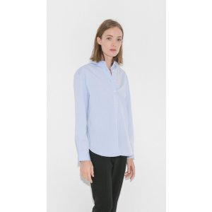 Totême Capri Shirt in Light Blue