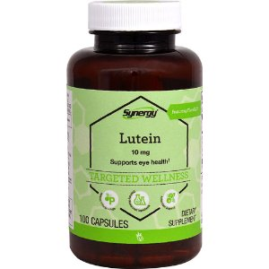 Vitacost Synergy Lutein Featuring FloraGLO® -- 10 mg - 100 Capsules
