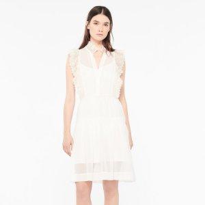 Light And Airy Lace Dress - Dresses - Sandro-paris.com