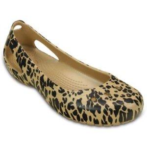 Women's Kadee Animal Print Flat | Women's Flats | Crocs Official Site