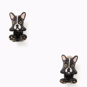 狗狗耳钉$28.7 额外7折kate spade官网精选可爱耳钉、项链等热卖