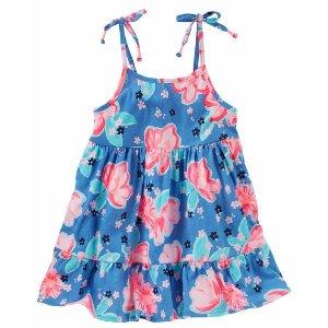 Toddler Girl Tiered Floral Print Tunic | OshKosh.com