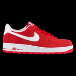 Nike Air Force 1 Low - Men's - Basketball - Shoes - Game Red/White