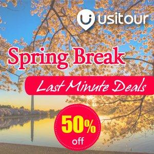 Dealmoon Exclusive! Last Minute Deals, Up to 50% OFF!2017 Peak Spring break Washington D.C.,sakura,Aurora Tour Packages Sale @ Usitour.com