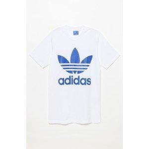 adidas White Boxy T-Shirt at PacSun.com