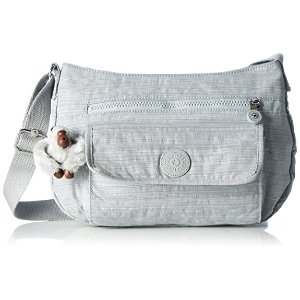 Kipling Women's Syro Shoulder Bag, 31 x 22 x 12.5 cm, grey, size: 31x22x12.5 cm (B x H x T): Amazon.de: Alle Produkte
