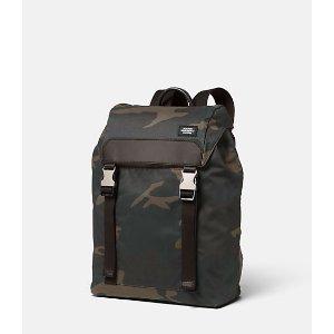 Camo Waxwear Army Backpack - JackSpade