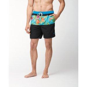 Naples Trikala Stripe 6-Inch Swim Trunks