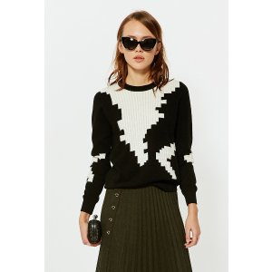 New Look Black And White Sweater TP1690