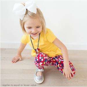 Bright Kids Basics Peplum Top from Hanna Andersson
