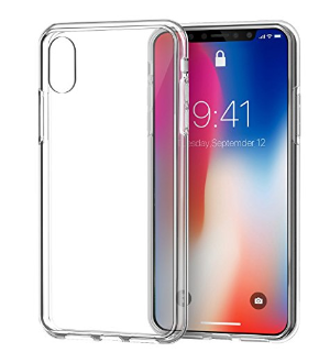 $2iPhone X Case Clear, Swees Slim & Thin Fit Full Body Shockproof TPU Bumper Protective Case, Transparent Anti-Scratch Hard Back Cover for iPhone X Edition / iPhone 10 Girls Women Men, HD Clear