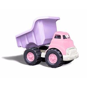 粉色翻斗车