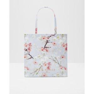 Oriental Blossom large shopper bag