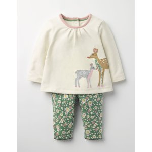 Animal Friends Jersey Play Set Y0084 Rompers & Play Sets at Boden
