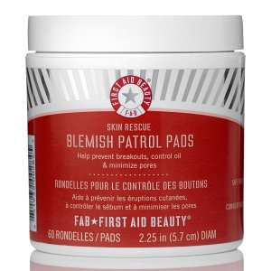 First Aid Beauty Skin Rescue Blemish Patrol Pads (60 Pads) (Worth $37) | Buy Online | SkinStore