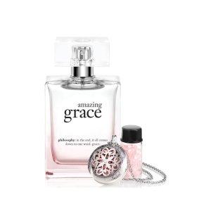 Women's Amazing Grace Necklace & Fragrance Beads